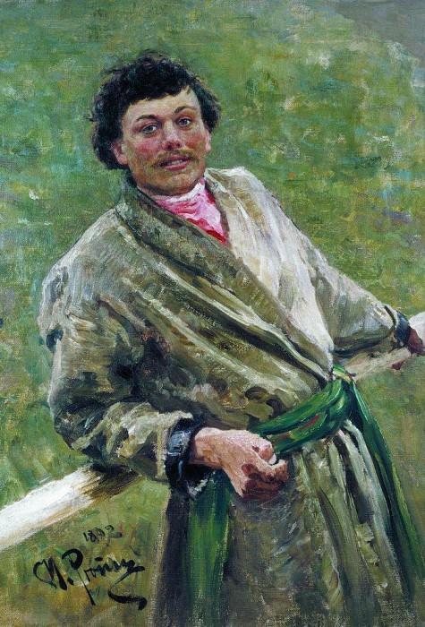 Belarusian. 1892. Ilya Repin