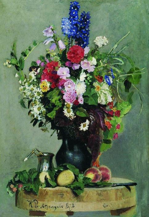 Bouquet. 1878. Ilya Repin