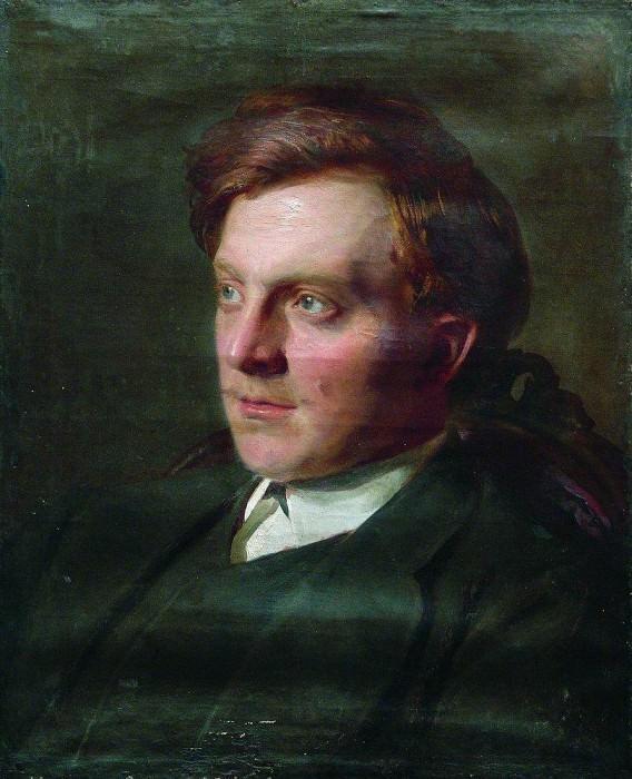 Portrait of a student Ivan T. Savenkova. Ilya Repin