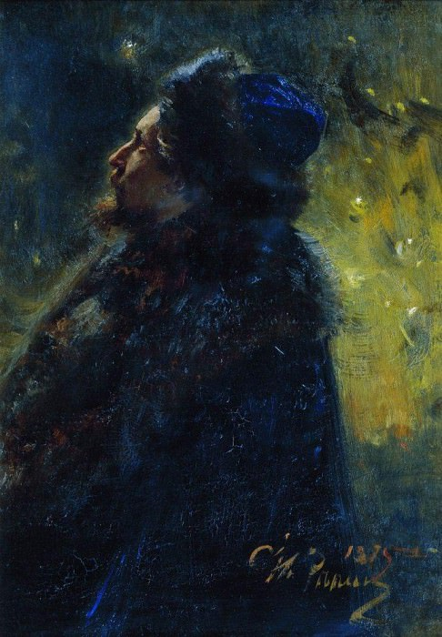 Viktor Vasnetsov. 1875. Ilya Repin