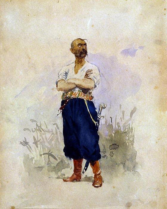 Zaporozhets. Ilya Repin
