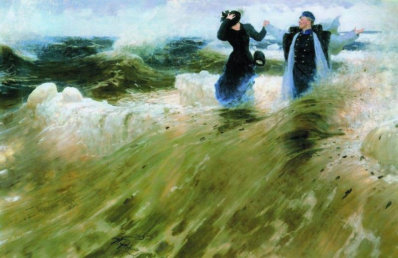 What space!. 1903. Ilya Repin