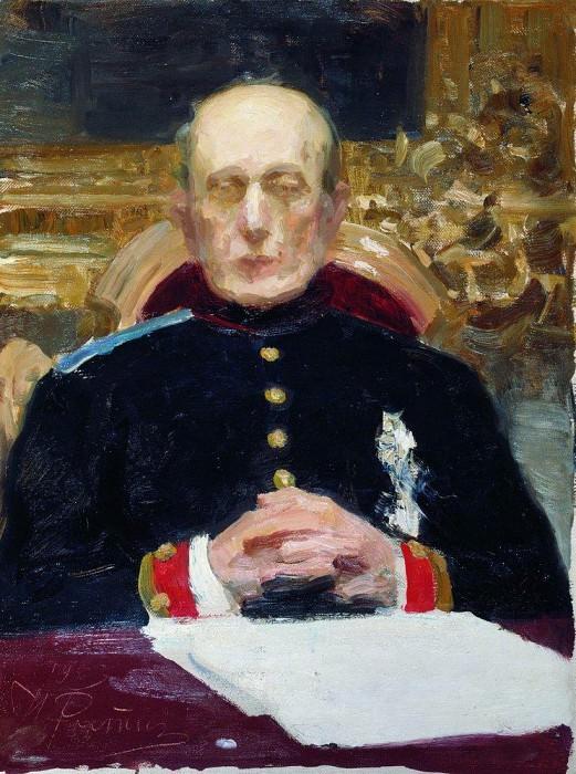 Портрет К. П. Победоносцева. 1903. Илья Ефимович Репин