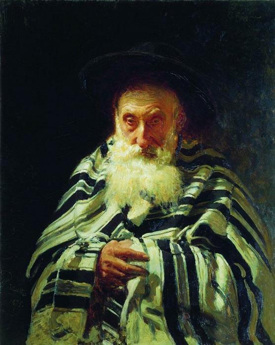 Еврей на молитве. 1875. Илья Ефимович Репин