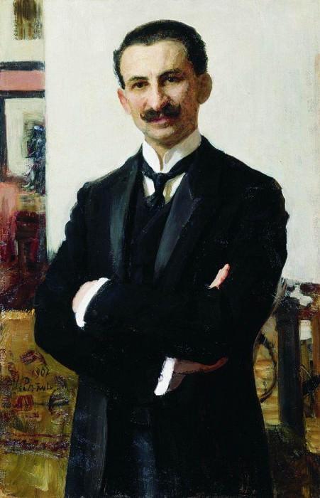 Portrait GI Shoofsa. 1907. Ilya Repin