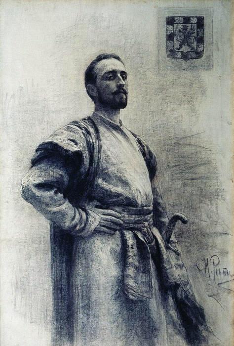 Портрет Романова. Илья Ефимович Репин