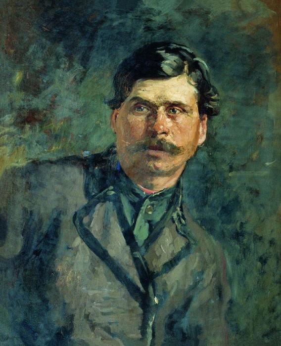 Soldier. Ilya Repin