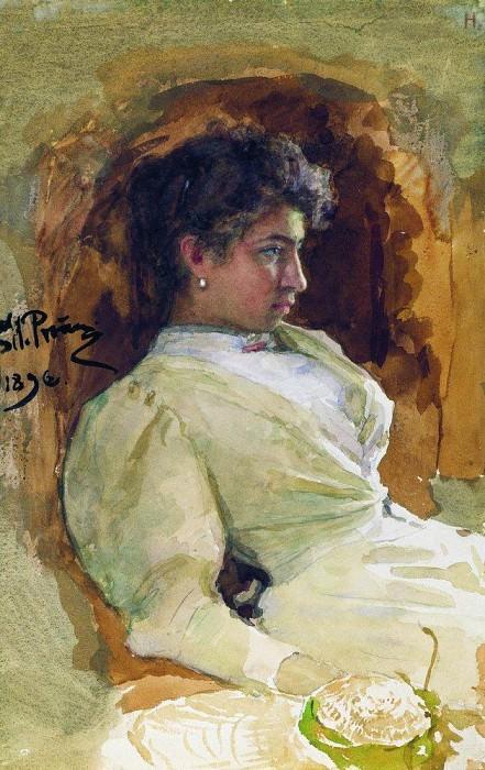 Portrait of Ilya Repin. 1896. Ilya Repin