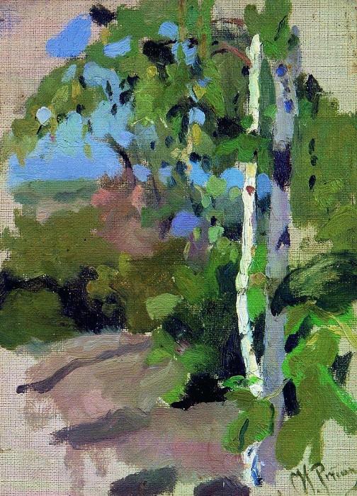 Birches. Sunny Day. Ilya Repin