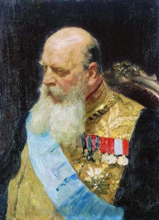 Portrait of Count DM Solsky. 1903. Ilya Repin
