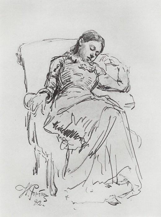 Otdyh1. 1882. Ilya Repin