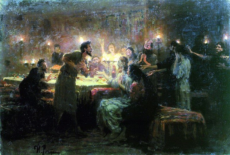 If everything is not me. . . 1896. Ilya Repin
