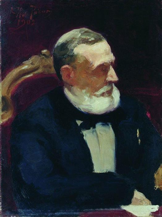 Portrait of Ivan Ivanovich Shamshina. 1,902. Ilya Repin