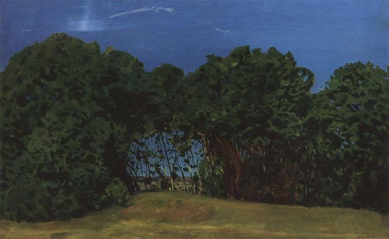 Forest. 1900. Konstantin Andreevich (1869-1939) Somov
