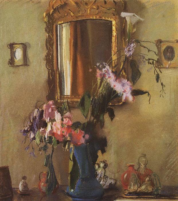 Natalia Pavlovna. 1899. Konstantin Andreevich (1869-1939) Somov