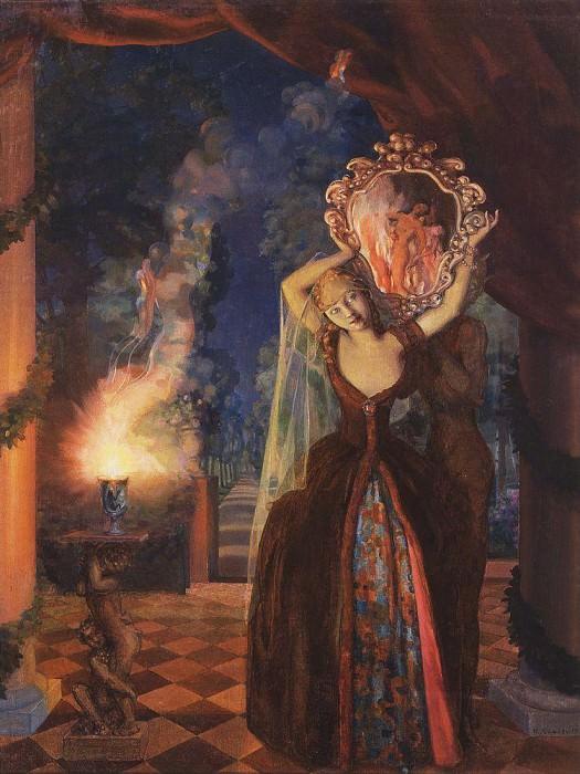 Fairy. 1915. Konstantin Andreevich (1869-1939) Somov