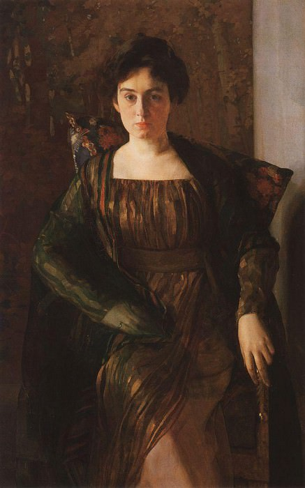 Портрет Г. Л. Гиршман. 1910-1911. Сомов Константин Андреевич (1869-1939)
