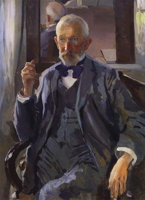 Портрет А. И. Сомова, отца художника. 1897. Сомов Константин Андреевич (1869-1939)
