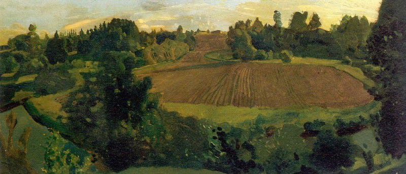 Love Island. 1900. Konstantin Andreevich (1869-1939) Somov