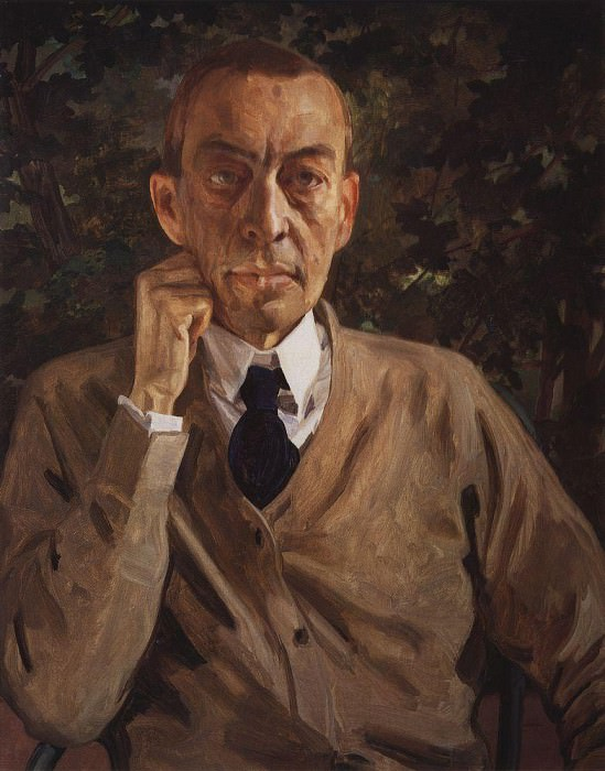 Portrait NE Dobychina. 1921. Konstantin Andreevich (1869-1939) Somov