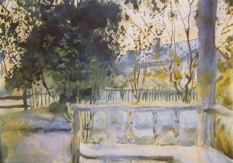 White night. Sergiev. 1897. Konstantin Andreevich (1869-1939) Somov