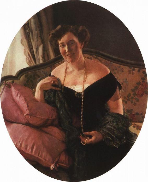 Portrait of Mikhail Kuzmin. 1909. Konstantin Andreevich (1869-1939) Somov