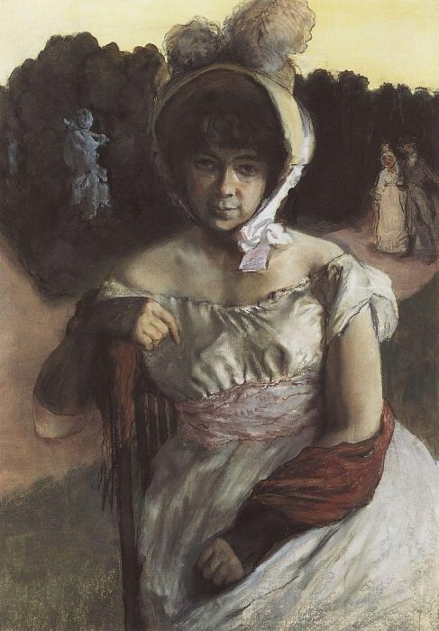 Portrait of Alexander Popov. 1928. Konstantin Andreevich (1869-1939) Somov