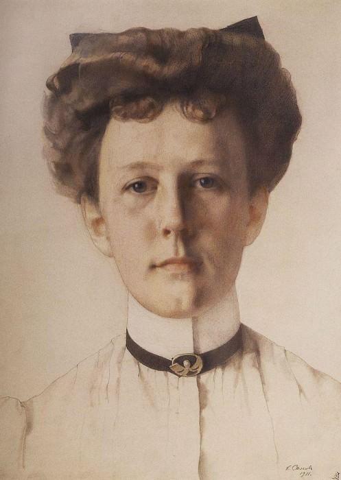 Портрет А. А. Нольде. 1911. Сомов Константин Андреевич (1869-1939)