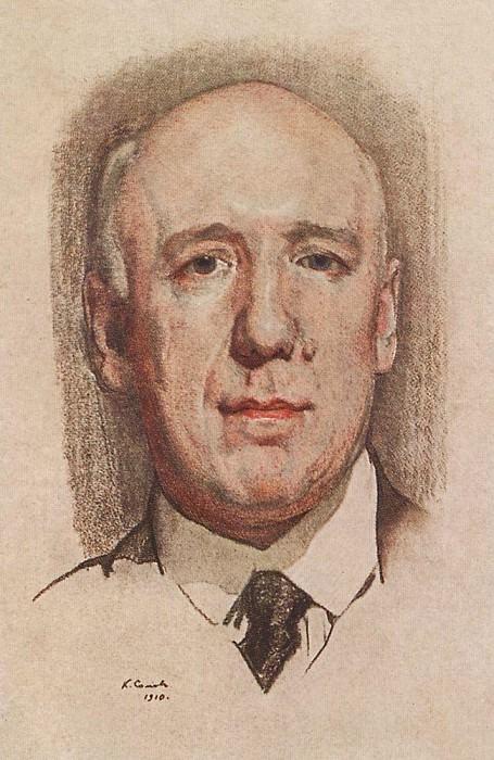 Портрет Ф. К. Сологуба. 1910. Сомов Константин Андреевич (1869-1939)