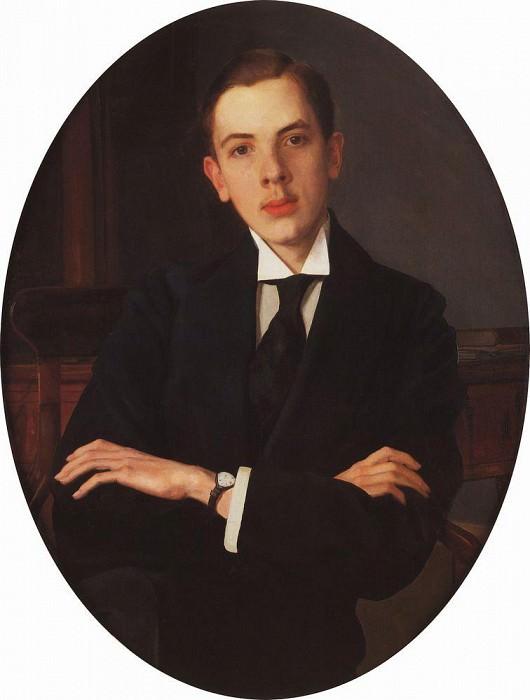Portrait EELansere. 1907. Konstantin Andreevich (1869-1939) Somov