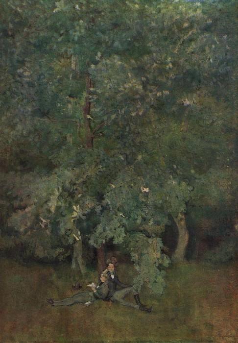 Поэты. 1898. Сомов Константин Андреевич (1869-1939)
