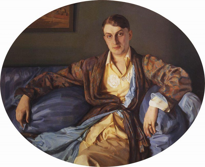 Portrait of Louise Morgan. 1926. Konstantin Andreevich (1869-1939) Somov