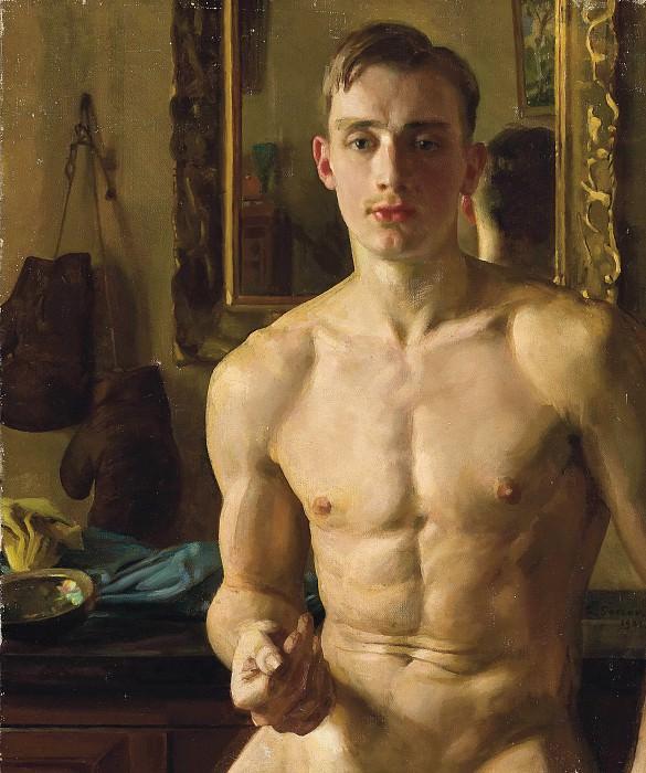 Боксёр 1933. Сомов Константин Андреевич (1869-1939)