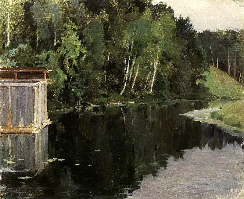 courtesans. 1903. Konstantin Andreevich (1869-1939) Somov