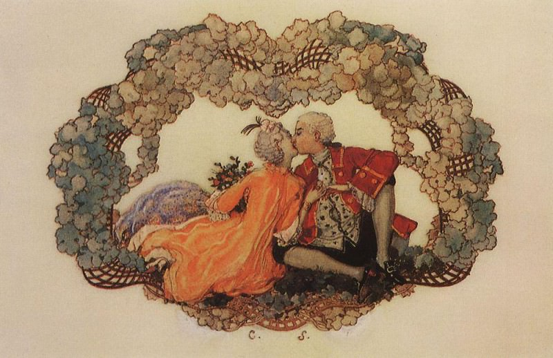Portrait of the artist Alexander Benois. 1895. Konstantin Andreevich (1869-1939) Somov
