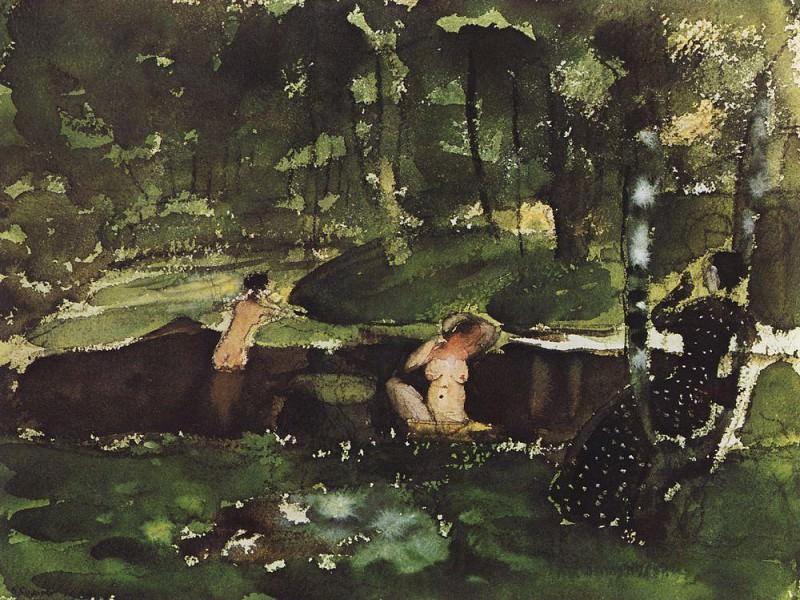 Concert. 1900. Konstantin Andreevich (1869-1939) Somov