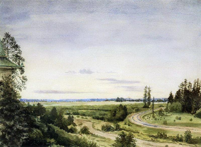 August. 1885. Konstantin Andreevich (1869-1939) Somov