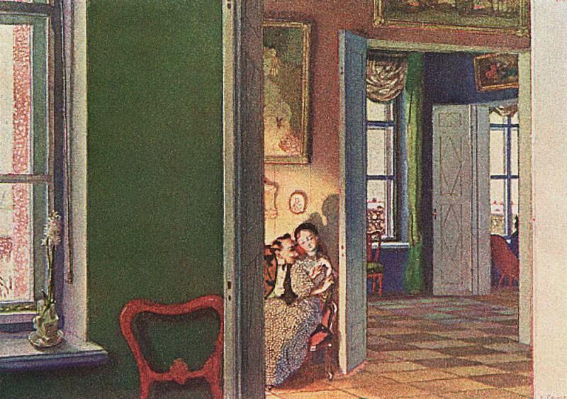 Winter. 1905. Konstantin Andreevich (1869-1939) Somov