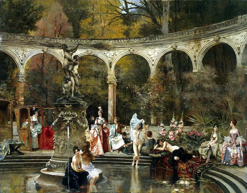 Фламенг, Франсуа - Купание придворных дам в 18 веке. Эрмитаж ~ часть 12