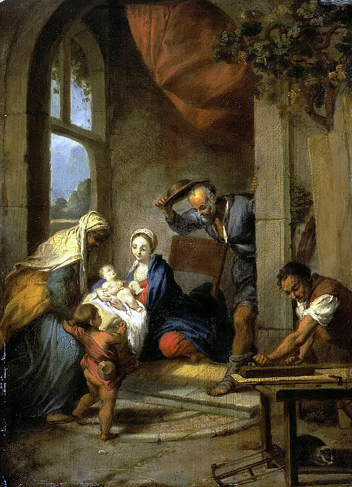 Fleygels, Nicola. Holy Family. Hermitage ~ part 12