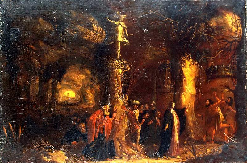 Troy, Rombout van. Christ heals frenzied. Hermitage ~ part 12
