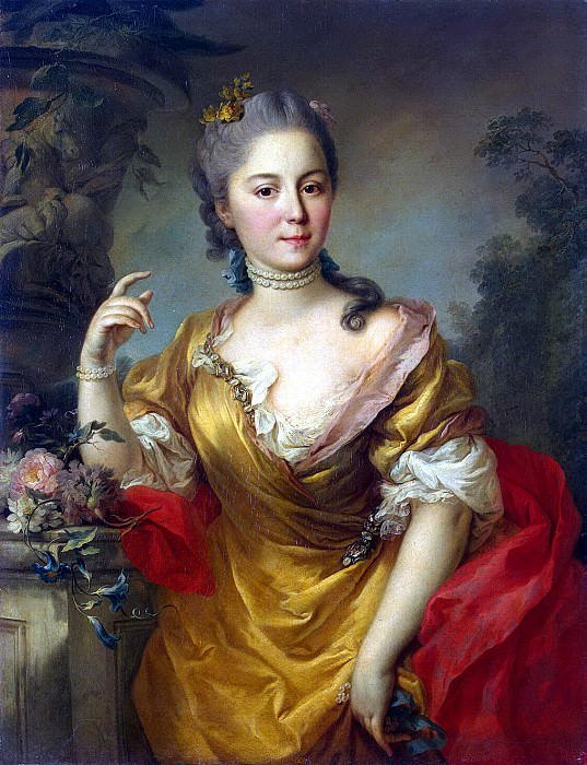 Torelli, Stefano. Portrait of Countess A. Chernysheva. Hermitage ~ part 12