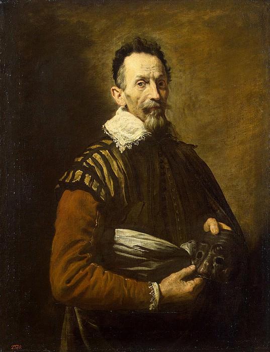 Fetti, Domenico. Portrait of the actor. Hermitage ~ part 12