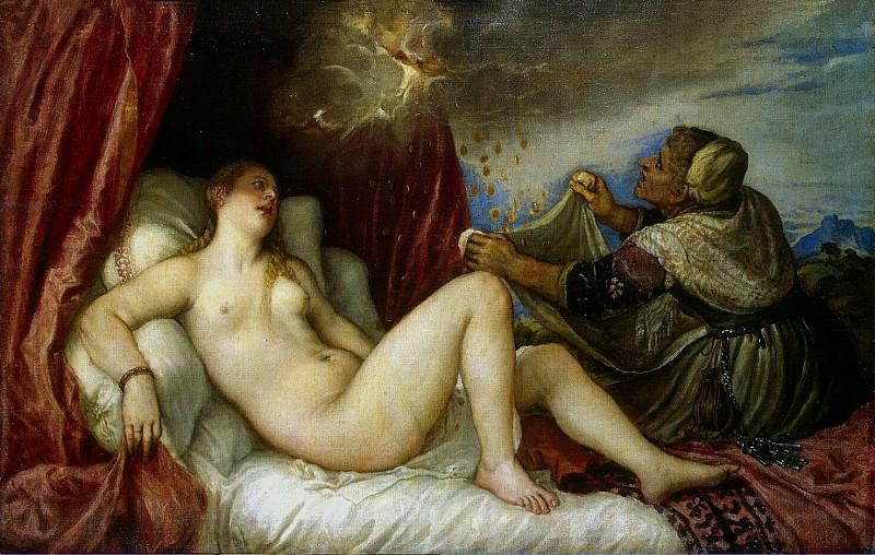 Titian. Danae. Hermitage ~ part 12