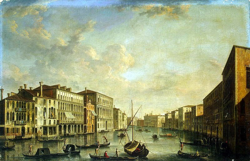 Tironi, Francesco. View of the Grand Canal. Hermitage ~ part 12