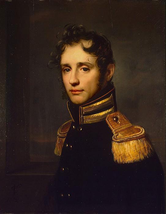 Vogel von Fogelshteyn, Carl Christian. Portrait of Burkhard Richter. Hermitage ~ part 12