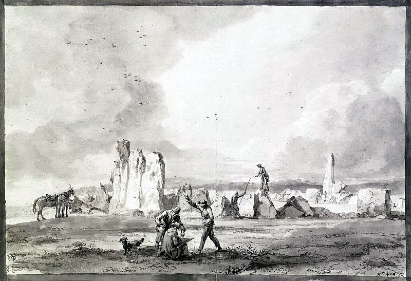 Uele, Jean-Pierre-Laurent. The ruins of the ancient structures of giant stones Tadarnadur Izrira in Malta. Hermitage ~ part 12