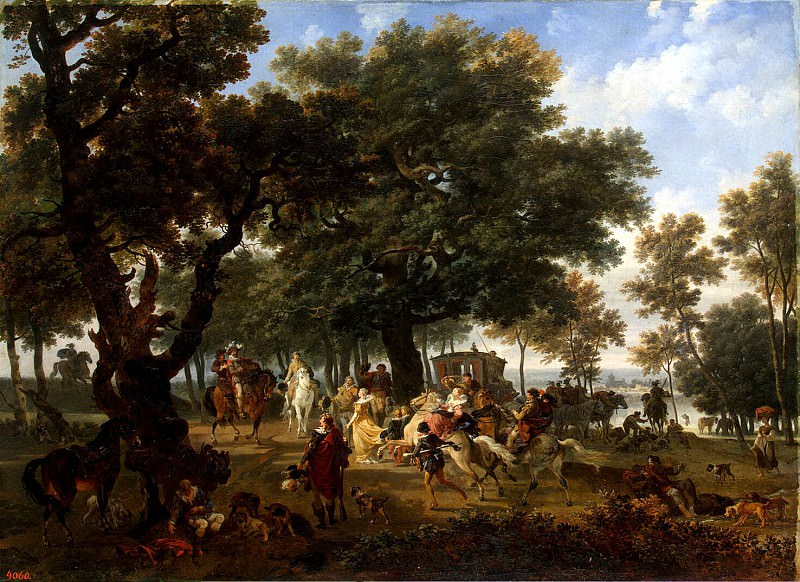 Tonya, Nicola. Henry IV and his entourage on the hunt. Hermitage ~ part 12