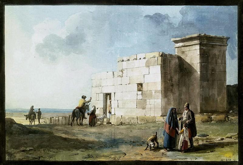 Уэль, Жан-Пьер-Лоран - Греческий дом в Казал Цурико на Мальте. Эрмитаж ~ часть 12