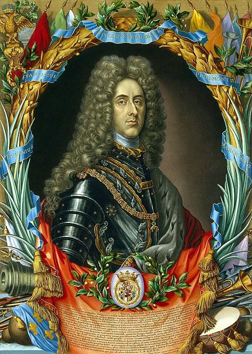 Falk, Gerard. Portrait of Prince Eugene of Savoy. Hermitage ~ part 12